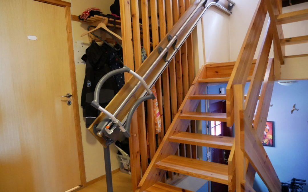 Wie der Treppenassistent nach einem Schlaganfall geholfen hat