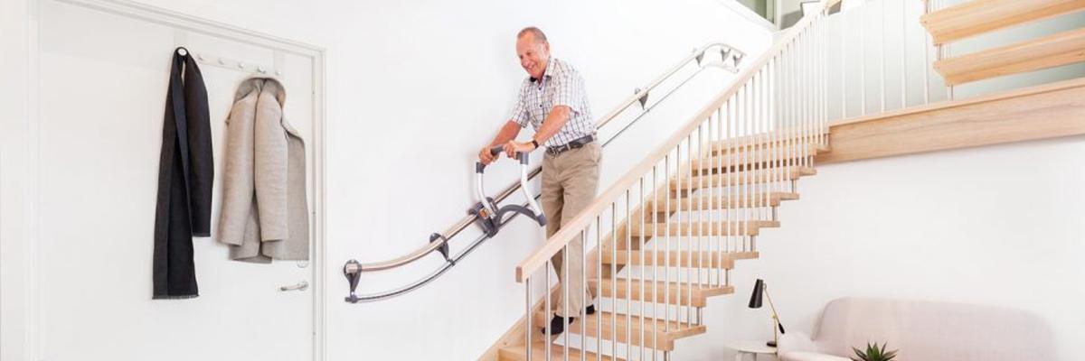Treppenassistent: Der Rollator für die Treppe