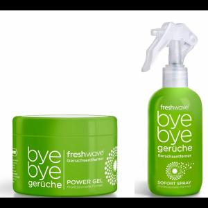 ANGEBOTS-SET Freshwave Geruchsentferner Power Gel + Sofort Spray