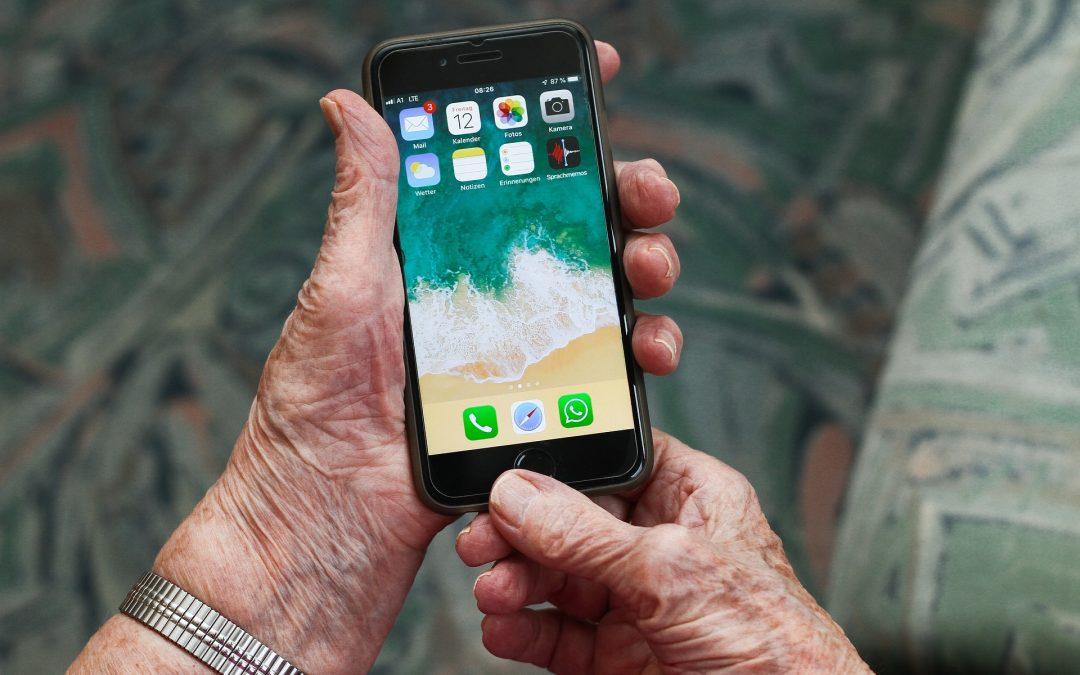 Smartphones und Tablets: Ein Gewinn auch für Ältere!