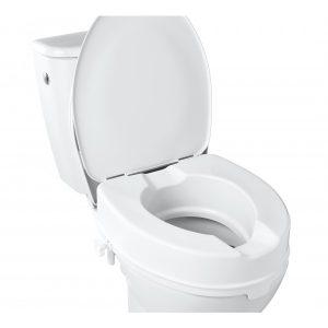 Toilettensitz-Erhöhung mit Deckel